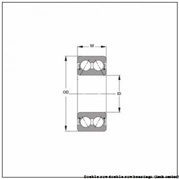 93801D/93125 Double row double row bearings (inch series)